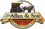 William Allan Butchers Logo